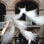 1992 ローザンヌビエンナーレでエントランスに設置