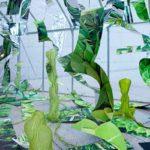 """2010 岡山県立美術館""""CULTEX""""展にて、アニケン アムンゼンとコラボで温室内に設置 虚構と現実のミックス"""