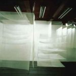 1984  Utsubo Gallery, silk organdy.