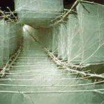 1989-1992シルクオーガンジーに竹を合わせたものを複数で構成