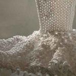 Huge dress Knitted Polyester polyethylene